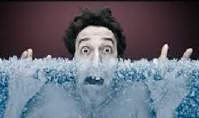 Man-freezing-in-ice-water